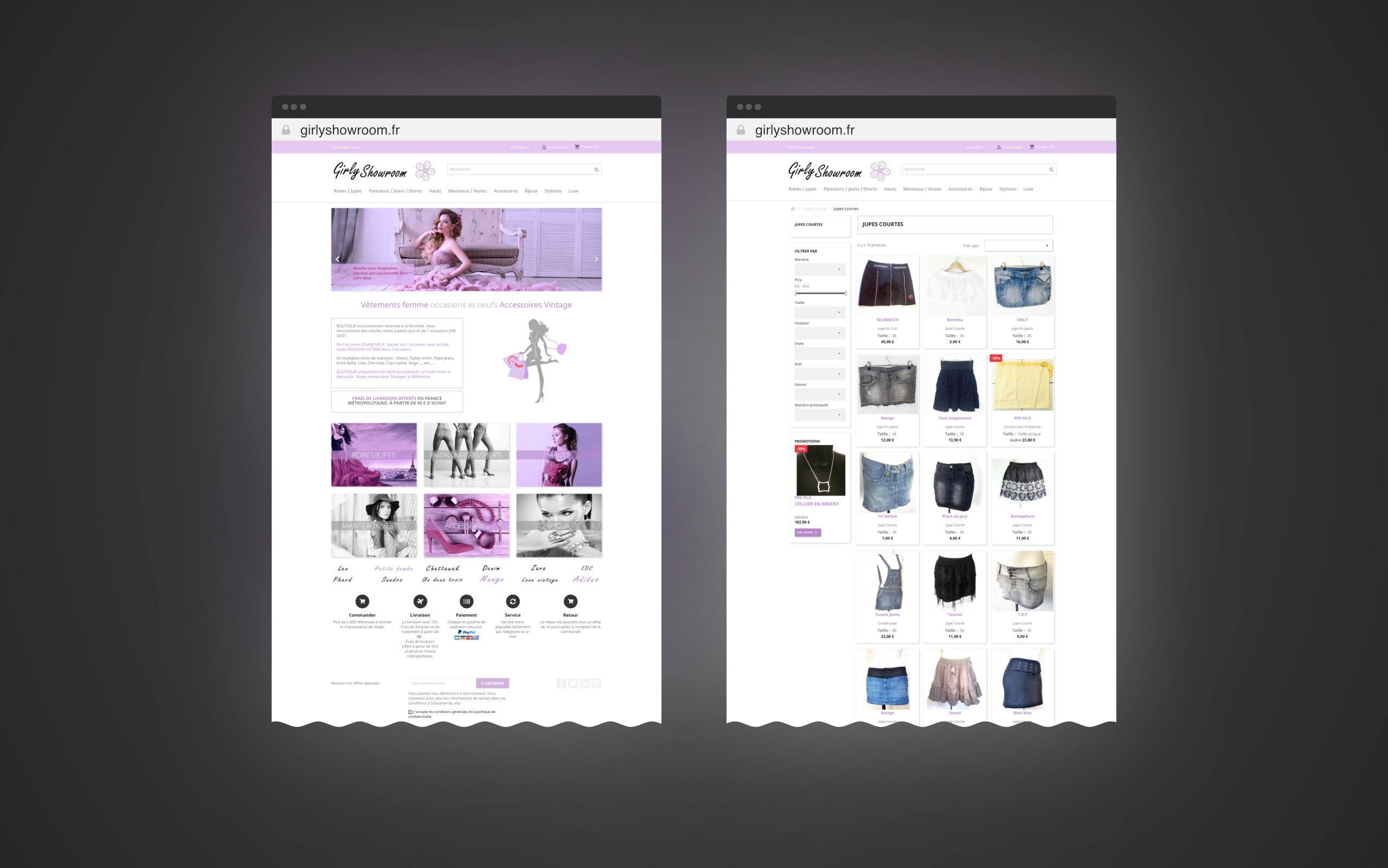 site-web-girlyshowroom