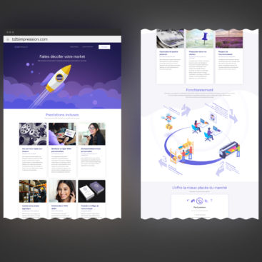 site-web-b2bimpression